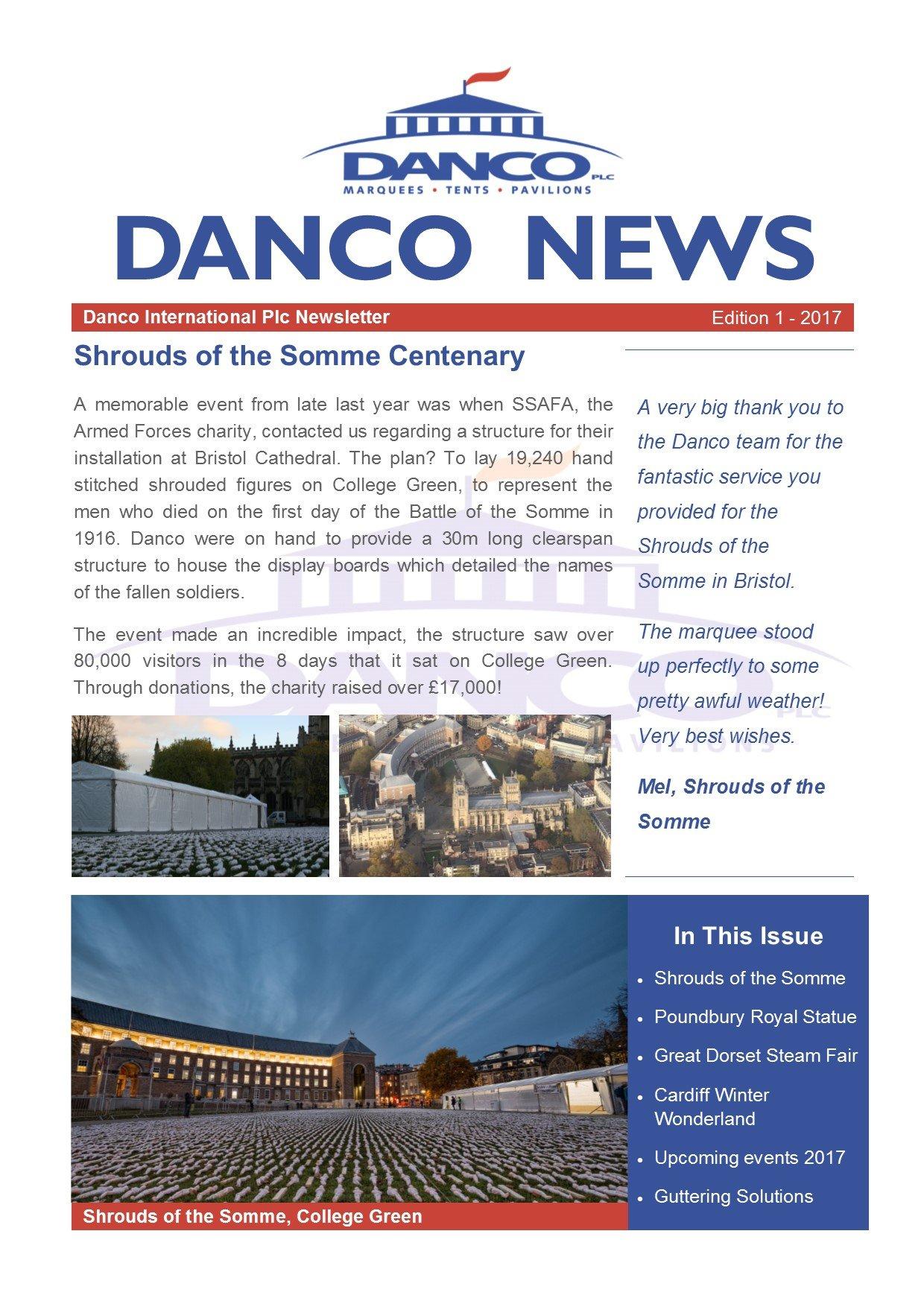 Danco Newsletters