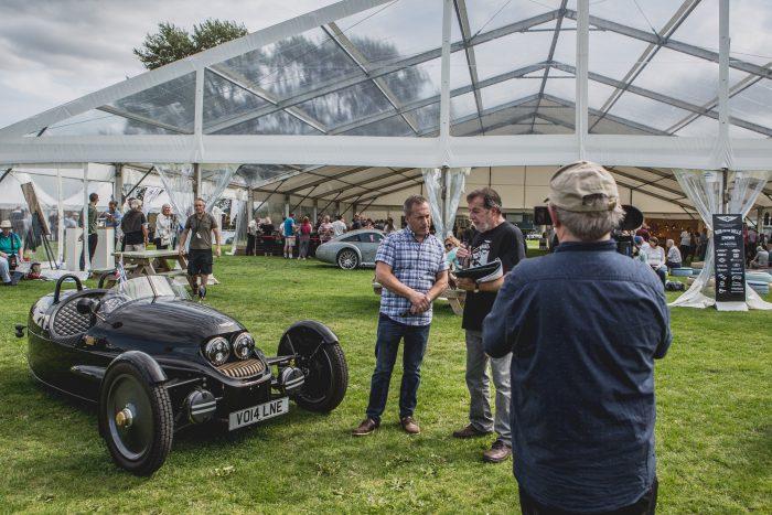 Danco Clear Marquee Malvern Showground Morgan Motors