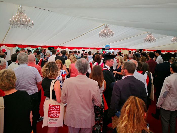 Cardiff University Graduation 2018 - Danco Marquee