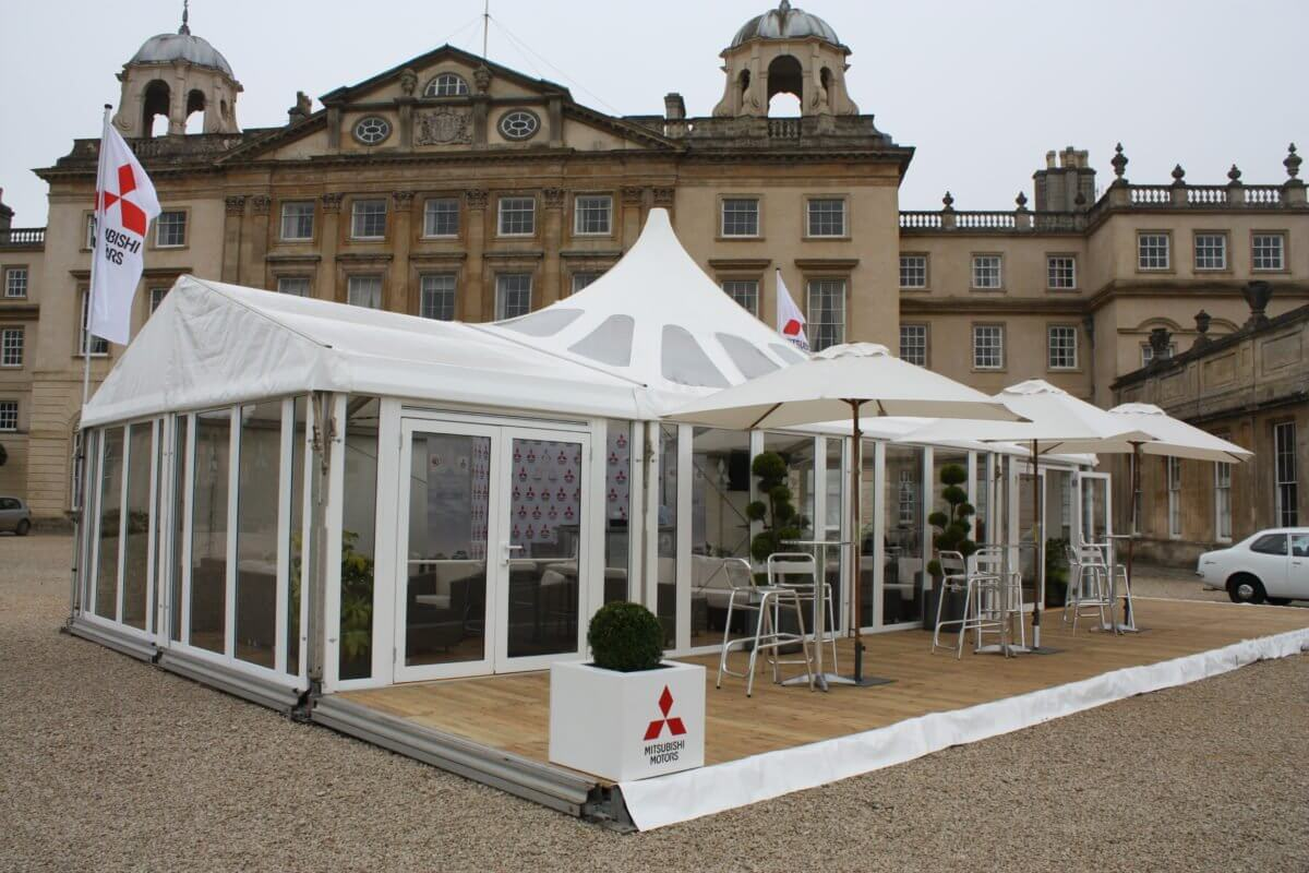 Dancone Marquees at Badminton House