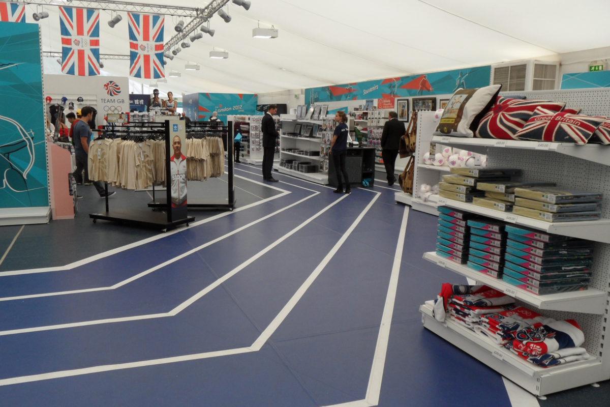 Olympics Temporary Store 2012