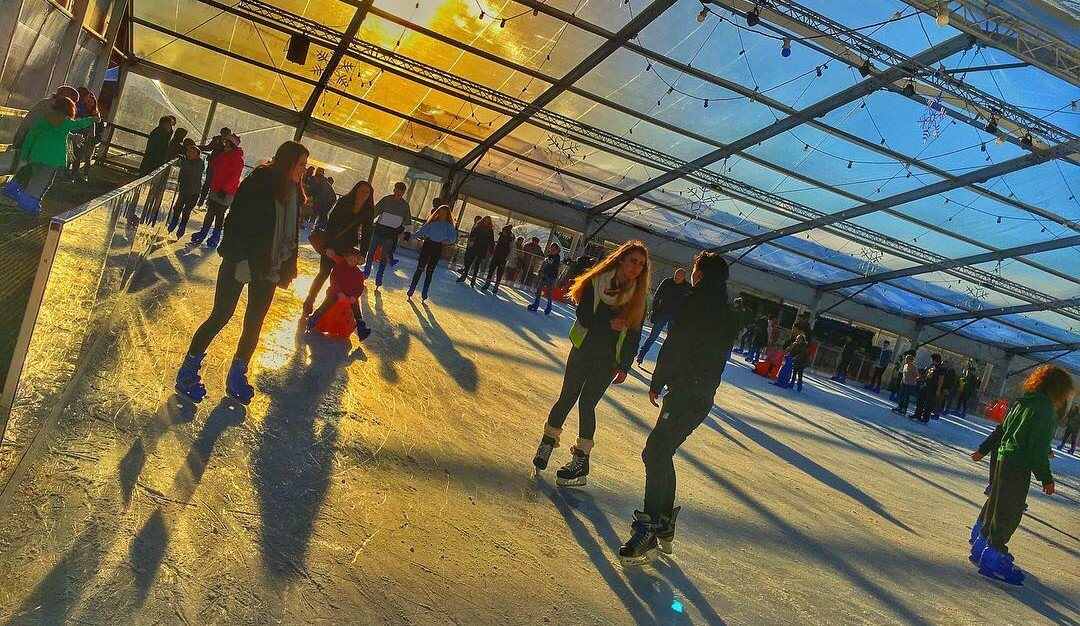 Sunset at Icescape @ The Tropicana