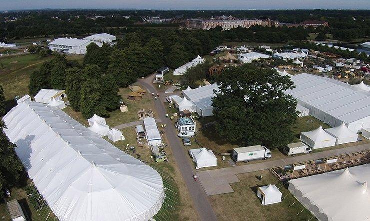 RHS Hampton Court Aerial