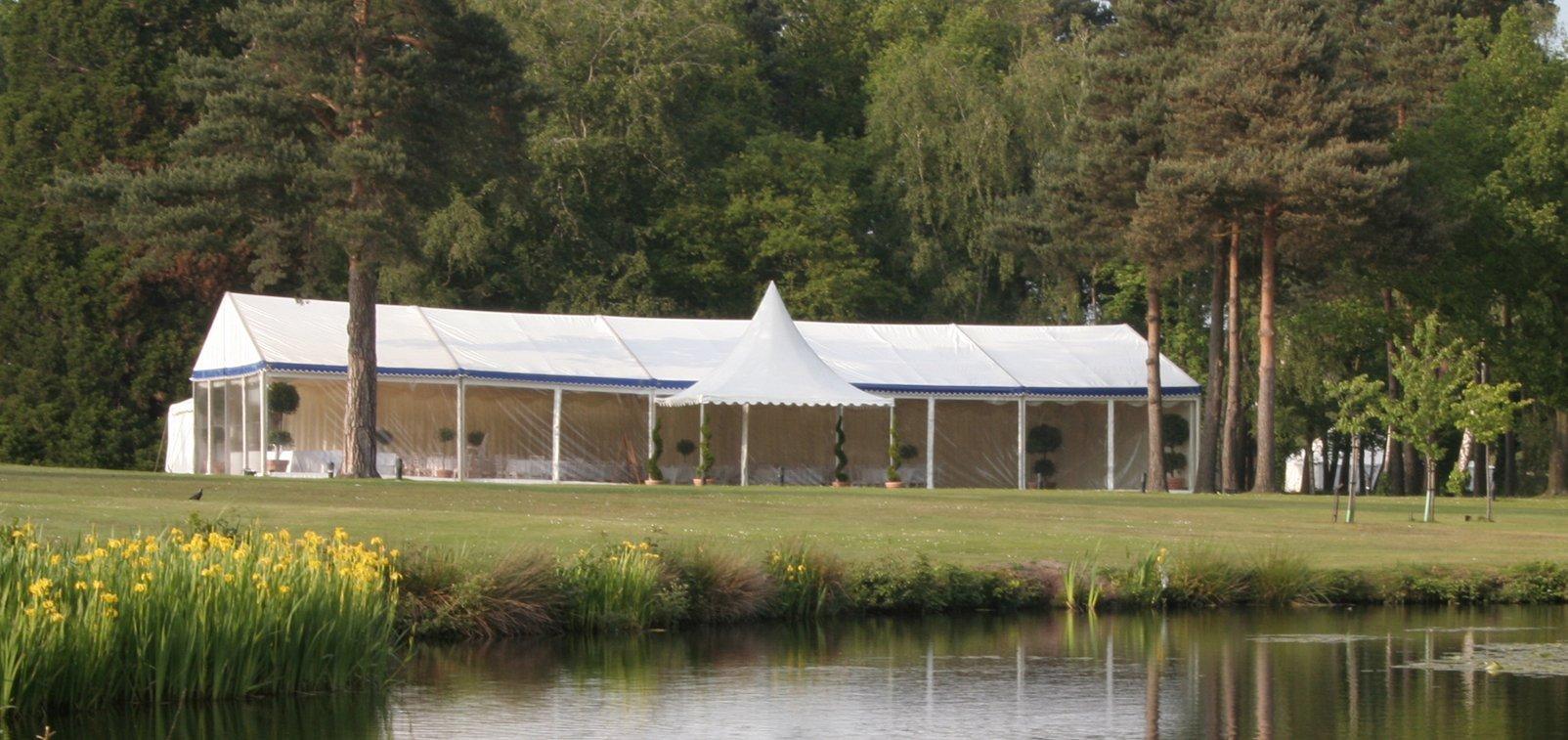 Sandhurst Wedding Marquee