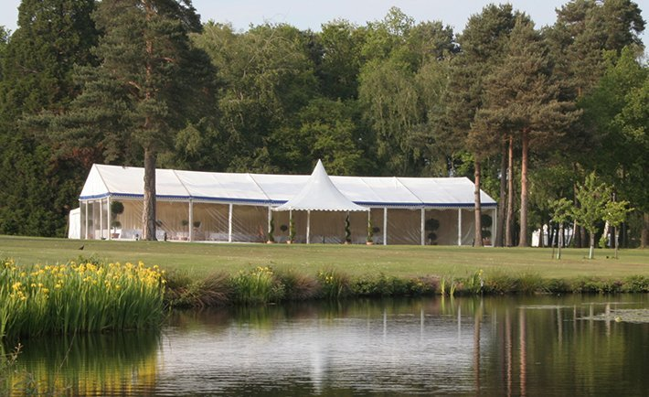 Sandhurst Wedding Marquee