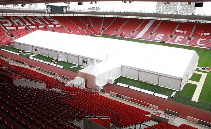 Southampton FC Party Marquee