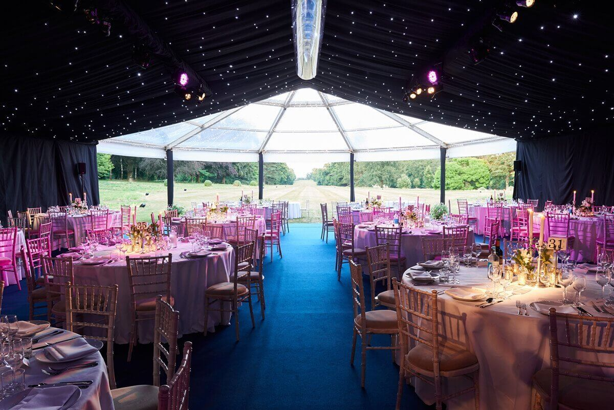 Danco Clear Round End Marquee