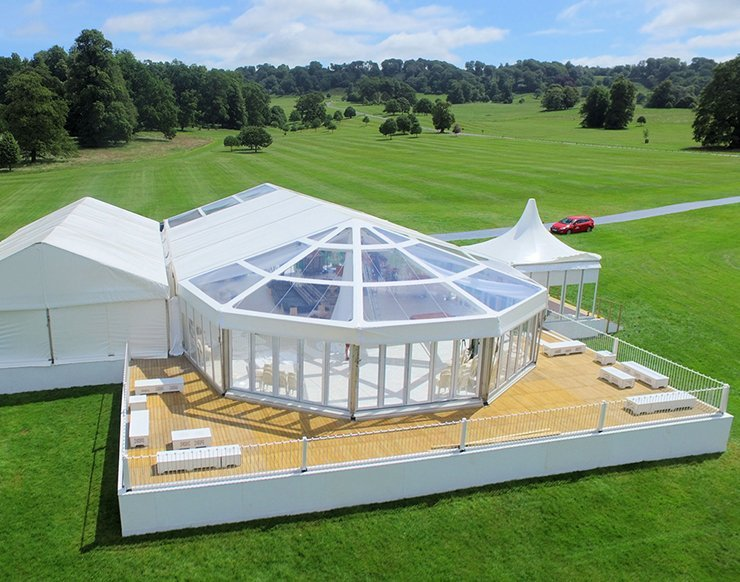 Longleat Wedding Marquee