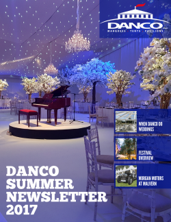 Danco Summer Newsletter 2017 - Cover3MB