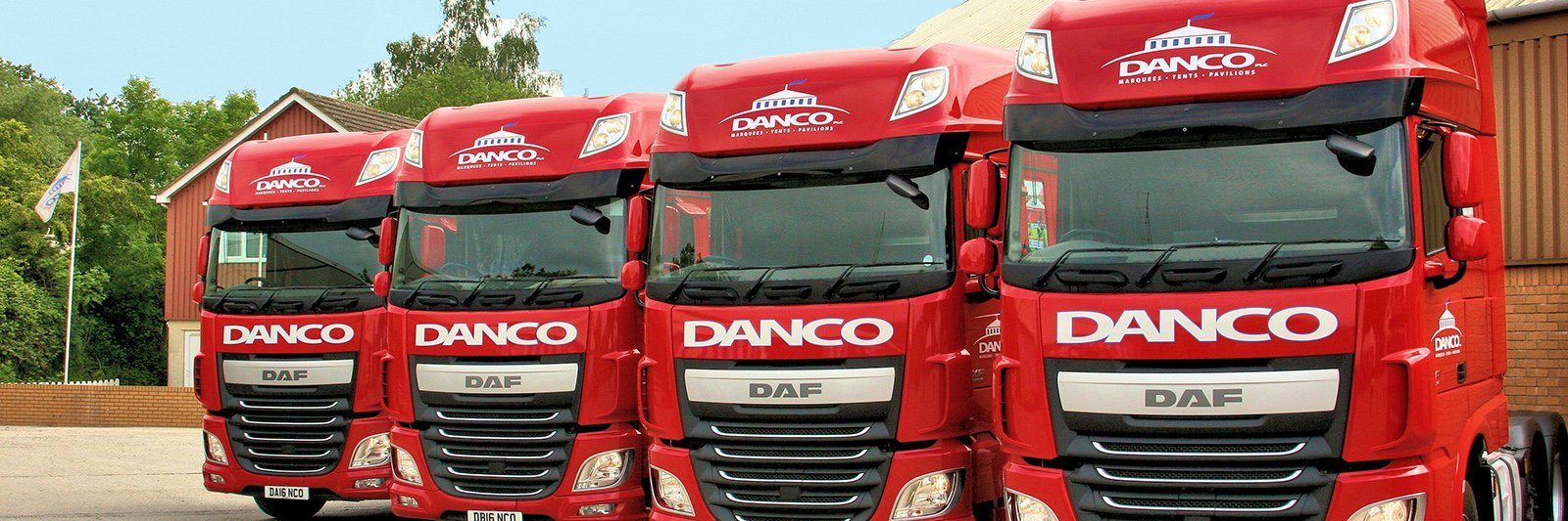 Danco DAF Vehicles