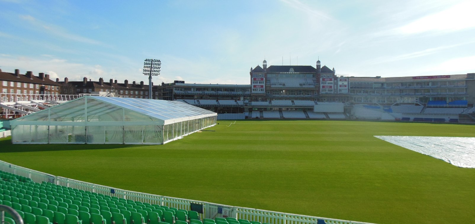 Surrey CCC Marquee Nets Cover