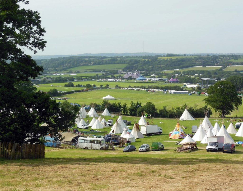 Glastonbury Festival Build